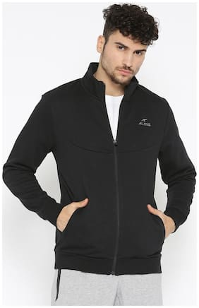 Alcis Men Cotton blend Jacket - Black