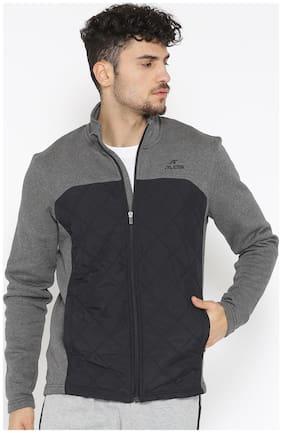 Men Cotton Blend Jacket