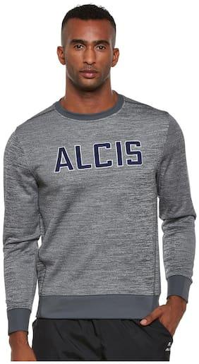 ALCIS MEN GREY CORE SLOUNGE SWEAT