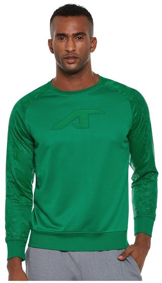 ALCIS MEN GREEN CAMOU SWEAT