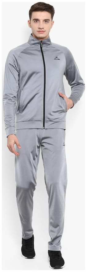 Slim Fit Polyester Track Suit