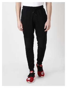 Slim Fit Polyester Blend Track Pants Pack Of 1