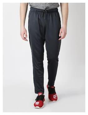 Alcis Men Polyester Blend Track Pants - Black