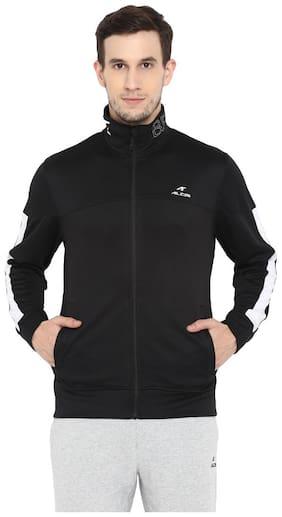 Alcis Men Polyester Jacket - Black