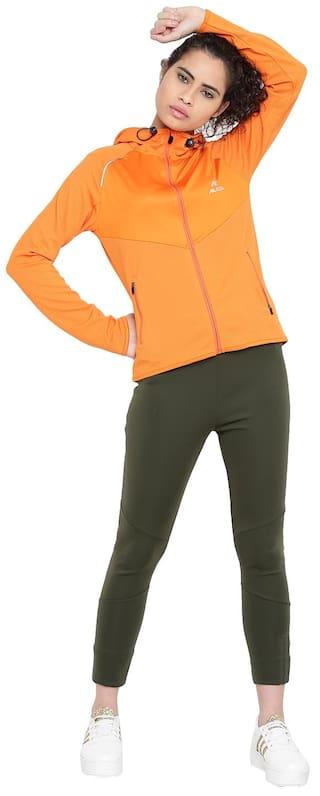 Women Alcis Orange Jacket IqFvYY