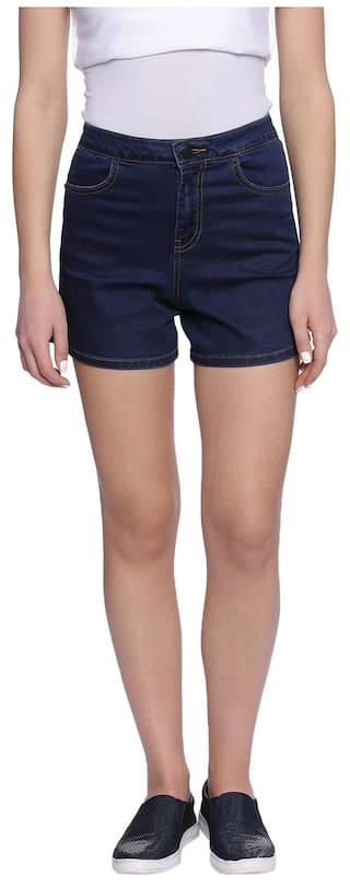 Alibi Women's Skinny Fit Shorts