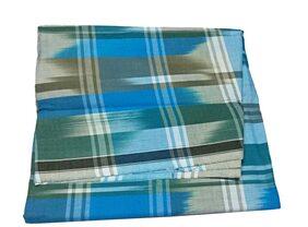 aliflaila Cotton Checked Regular Dhoti Dhoti - Multi