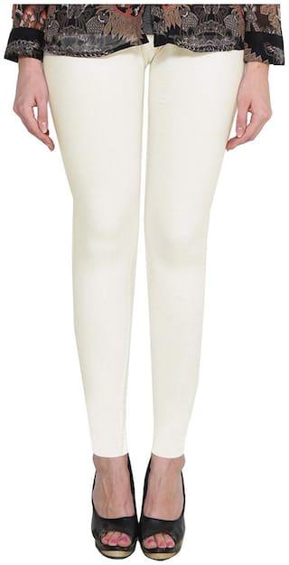 LAKSHMYA Cotton Leggings - White