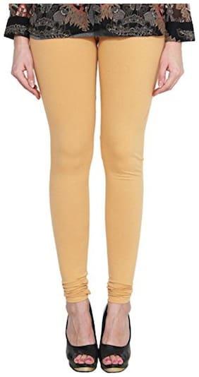 LAKSHMYA Cotton Leggings - Yellow