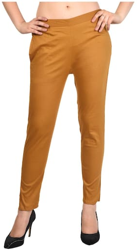 866880f0125d5c ALISHAH Cotton Lycra Trousers for Women and Girls;Plus 15 Colors;Sizes:-