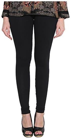 LAKSHMYA Cotton Leggings - Black