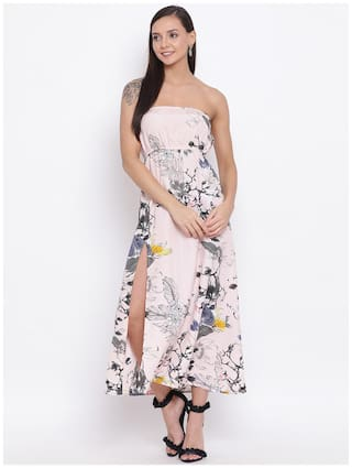 All Ways You Multi Floral Fit & flare dress