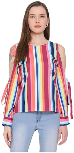 All Ways You Women Striped Regular top - Multi