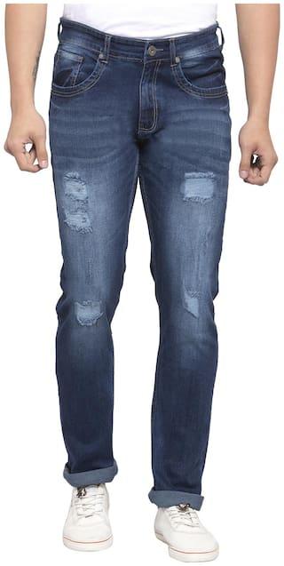 Allen Cooper Men Blue Slim Fit Jeans