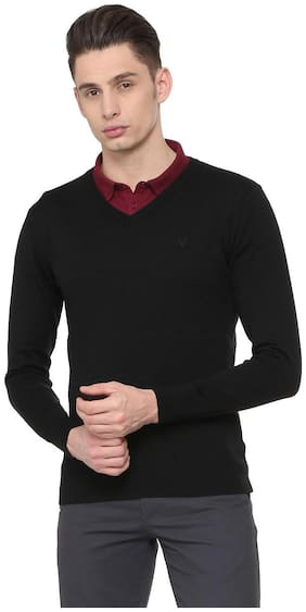 Men Blended Full Sleeves Sweater