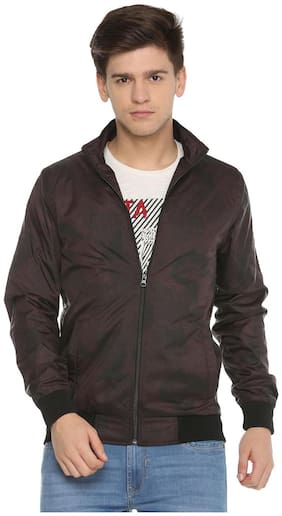 Men Polyester Full Sleeves Jacket