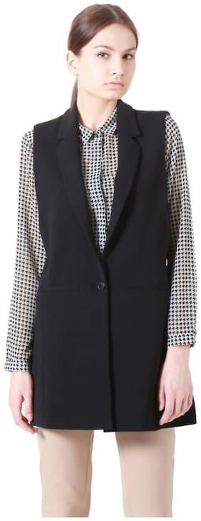 Women Polyester Regular FIt Blazer