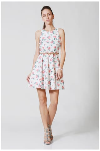 White Solly Dress Solly Allen White Dress Allen Allen Solly SqWWPxcdT7