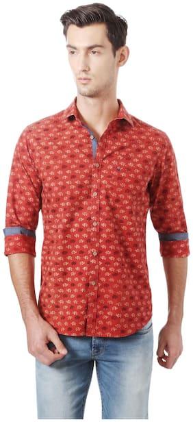 Men Regular Fit Printed Casual Shirt Pack Of 1