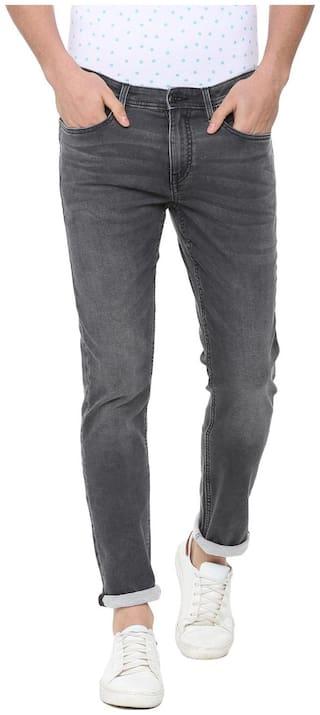 Allen Solly Men Mid rise Slim fit Jeans - Grey