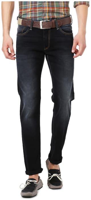 Allen Solly Men Black Slim Fit Jeans