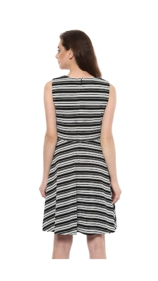 Black Allen Solly Solly Dress Allen qwxWpzwvY
