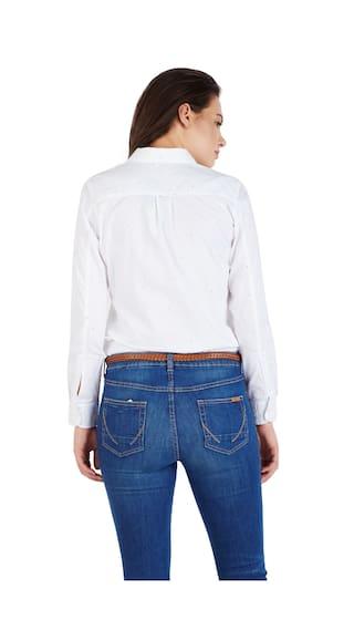 White Regular Shirts Solly Allen Cotton tUzwWv