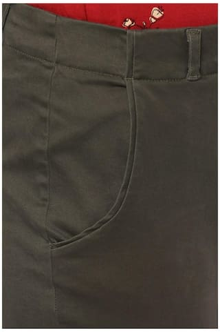 Olive Solly Allen Solly Olive Trousers Allen 4g8Bxv1