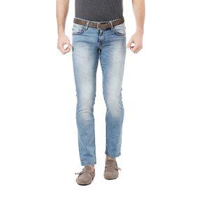 Allen Solly Blended Super Slim Blue Jeans