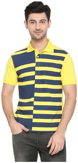 Allen Solly Yellow T Shirt