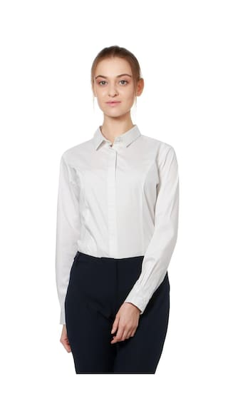 Allen Solly White Shirt