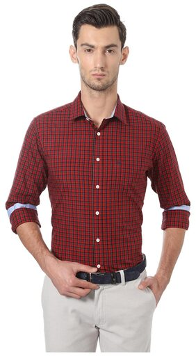 Allen Solly Red Shirt