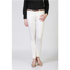 Allen Solly White Trousers