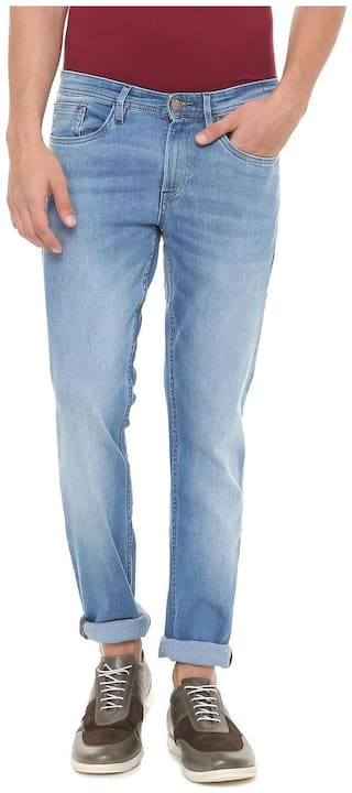 Allen Solly Men Mid rise Slim fit Jeans - Blue