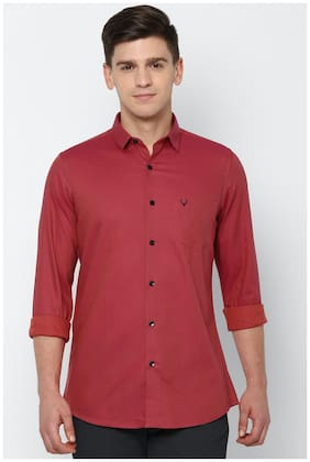 Men Slim Fit Textured Casual Shirt