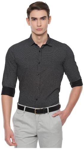 Men Slim Fit Polka Dots Casual Shirt Pack Of 1