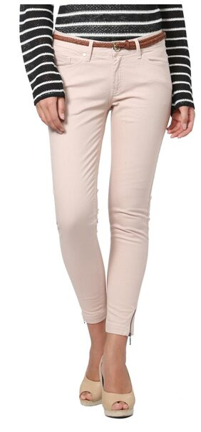 Allen Solly Cotton Regular Pink Casual Trousers & Pants