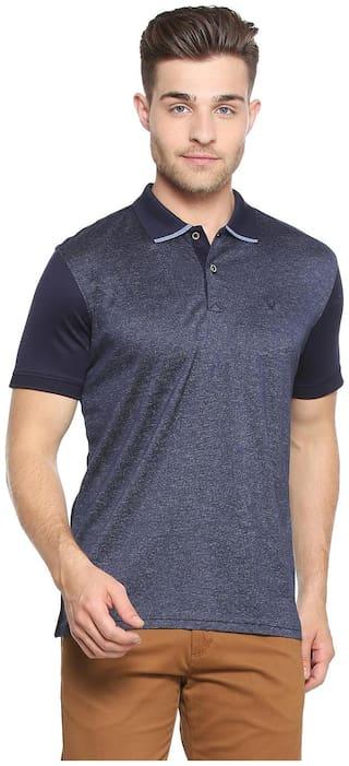 Allen Solly Blue T Shirt