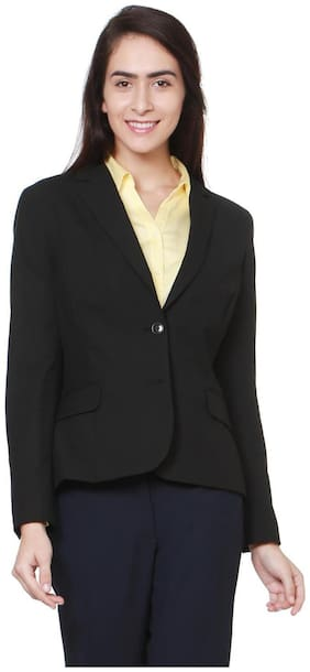 Women Blended Slim Fit Blazer