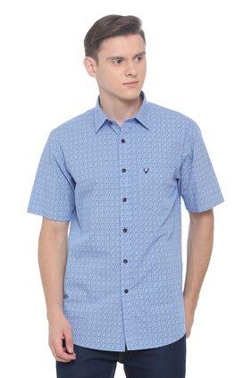 Allen Solly Men Regular Fit Casual shirt - Blue