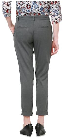 Regular Grey Solly Trouser Formal Allen Blended Bgw6EqxR1