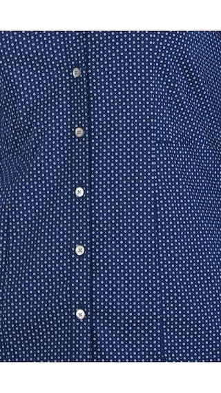 Allen Regular Formal Solly Shirts Blended Blue r4qfYrw