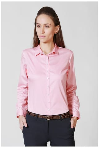 Allen Solly Pink Shirt