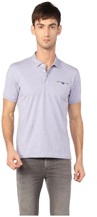 Allen Solly Men's Polo T-Shirt - Purple