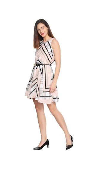 Allen Solly Peach Peach Dress Dress Solly Allen Peach Allen Solly ayapw5crHq
