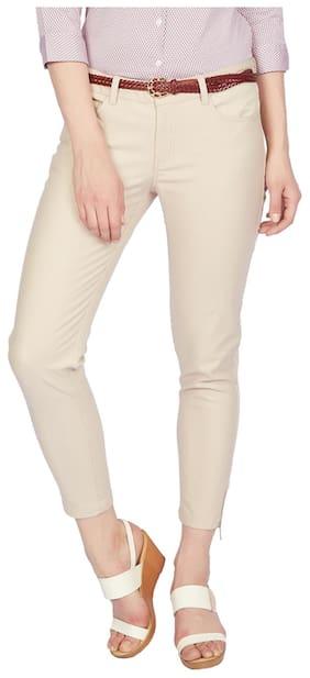 Allen Solly Beige Pants