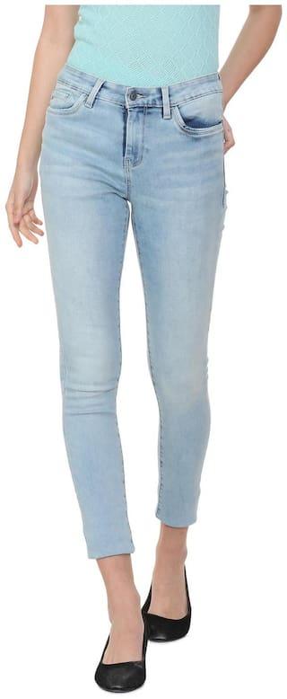Allen Solly Women Blue Slim fit Jeans