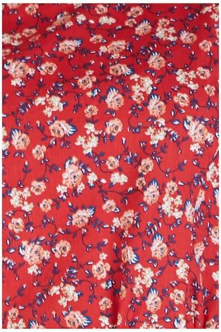 Dresses Cotton Allen Red Solly Regular qpPwIU
