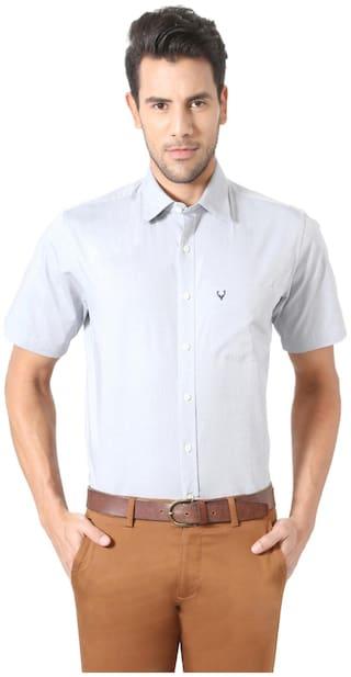 Allen Solly Men Regular fit Formal Shirt - White