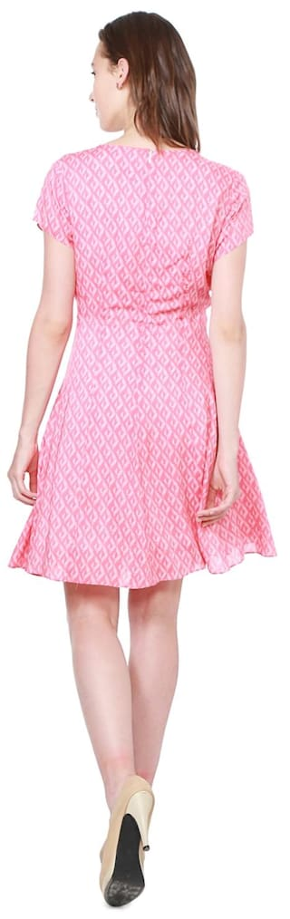 Allen Regular Solly Dresses Modal Pink Pwr18gqP